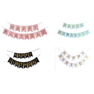 Happy Birthday Banner (pre order)