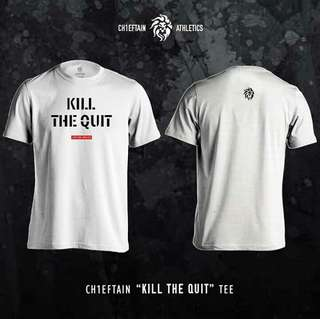 "CH1EFTAIN ""KILL THE QUIT"" tee in White"
