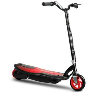 Electric Adjustable Scooter - Red