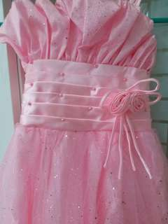 Baju pesta Princess Baby Pink