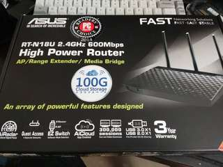 Asus WiFi Router RT-N18U