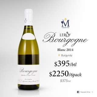 Leroy Bourgogne blanc 2014