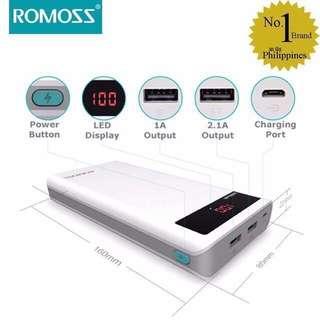 Romoss Powerbank 20,000mAh