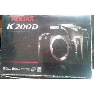 PENTAX K200D SLR Digital Camera (Body Only) For Sale