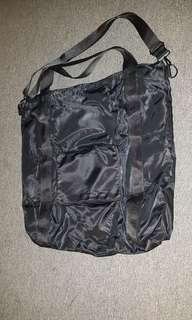 Cotton On Black Foldable Tote Bag