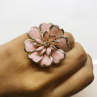 Baby Pink Flower Ring! - New!