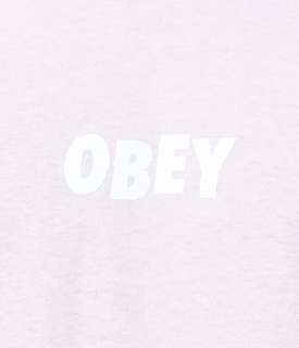 Obey pink tee