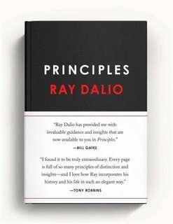 "Brand new ""principles"" by Ray dahlio"
