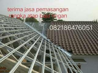 Spesialis pemasangan rangka atap baja ringan