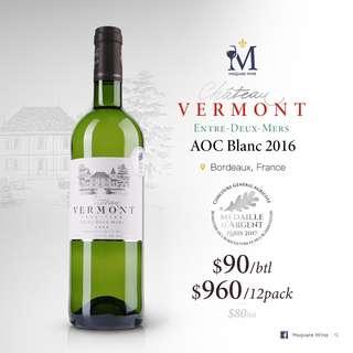 Vermont Entre Deux Mers AOC Blanc 2016