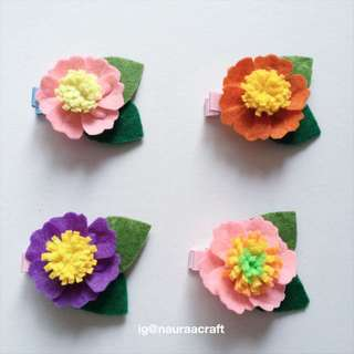 Baby/Kid Flower Hairclip