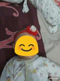 Bando bayi model mahkota cantik (harga pas, baru lho... New)