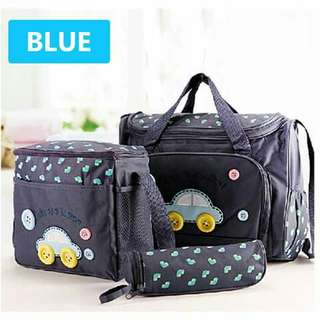 4pc Diaper Bag Set - BLUE