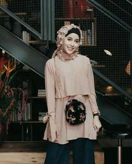 Zara Backpack Bordir Original