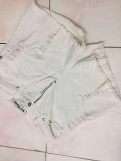 NEXT white shorts (highwaist)