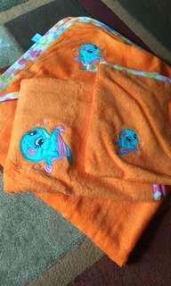 Set handuk bayi