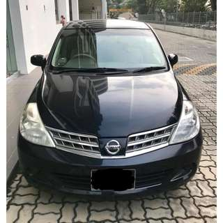 Nissan LATIO Cheap Rental! Grab Friendly*