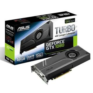 ASUS Turbo GeForce® GTX 1080 8GB GDDR5X
