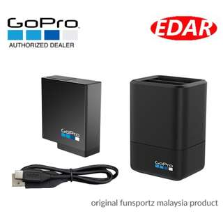 GOPRO DUAL BATTERY CHARGER + BATTERY ««ORIGINAL & OFFICIAL FUNSPORTZ»»
