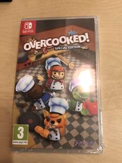 100% new Switch overcooked