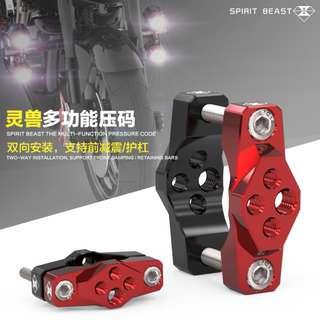 SPIRIT BEAST MOUNT for escooter / dyu / ebike / speedway / oem / futecher / inokim / mini / dualtron / ultron / dark knight/ e scooter