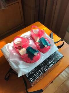MiniMelissa冰淇淋女童涼鞋