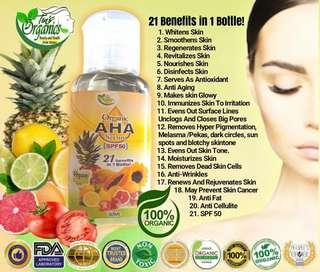 Organic AHA serum