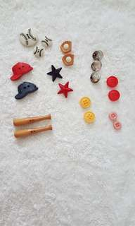 Assorted Cute buttons