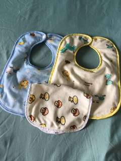 Fleece waterproof bibs