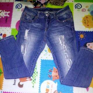 Original Guess Ripped Jeans