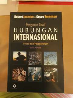 Pengantar Studi Hubungan Internasional Edisi 5
