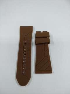 SevenFriday Brown Silicon Strap