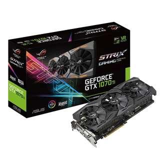 ASUS ROG Strix GeForce® GTX 1070 Ti Advanced edition 8GB GDDR5