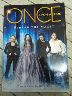 "Once Upon A Time ""Behind The Magic"" Official TV Series Book"