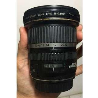 Canon EF S 10-22mm F3.5-4.5 USM Termurah