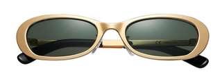 🚚 SUPREME Exit Sunglasses Gold 金色