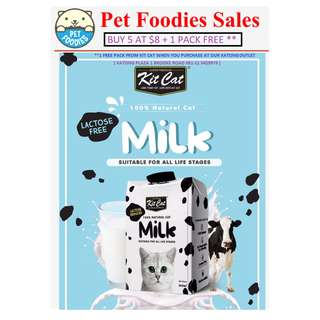 [Pet Foodies] Kit Cat Lactose Free Milk