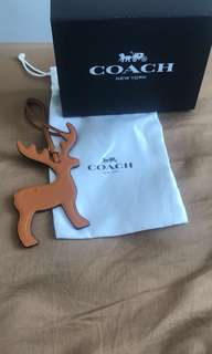 Coach leather coach 扣