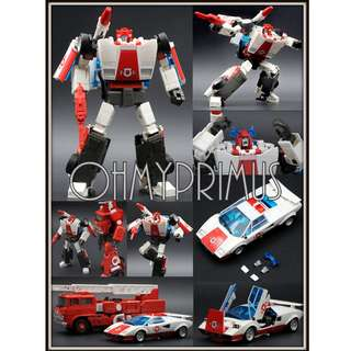🚚 Badcube Bad Cube OTS-15 OTS15 Security Director Recon - Transformers Masterpiece MP Red Alert