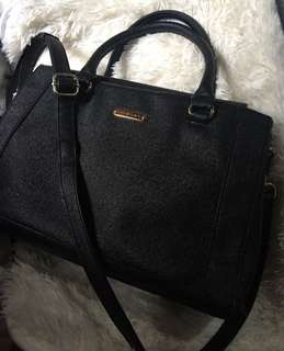 Authentic Anne Klein Sling Two wag bag Not Michael kors kate spade mcm coach gucci prada