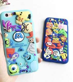 怪獸公司 怪獸大學手機殼 iPhone 6 Plus 7 plus 8 plus 🌹monster inc monster university 毛毛 丫boo 大眼仔 Disney Phone case Pixar 🌹