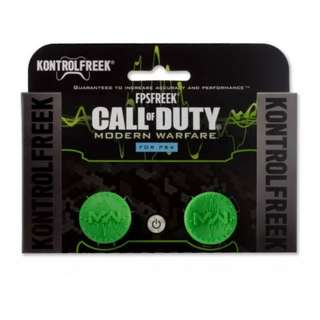 PlayStation 4 KontrolFreek Call Of Duty Modern Warfare- Green (New)