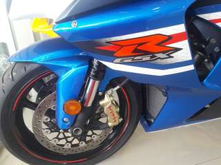 GSX 1000cc 2013 yrs unregister