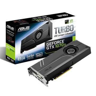 ASUS Turbo GeForce® GTX 1070 TI 8GB GDDR5