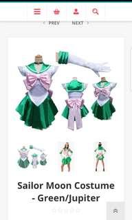Green Sailor Moon Costume