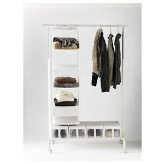 RIGGA Clothes Rack (White)