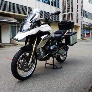 BMW R1200GS Reg date 08/11/2013 Mileage 9,600km 2 owners