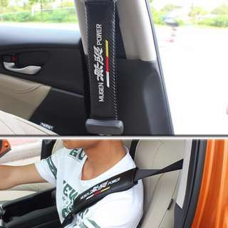 Carbon Fiber Car Seat Belt Shoulder Pad Seat Belt Cover