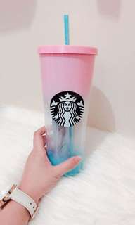 Starbucks Sunny Gradation original Korea size tentra 710ml