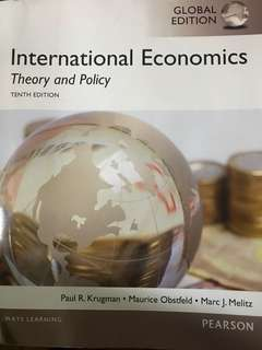 International Economics - Krugman, Maurice & Melitz